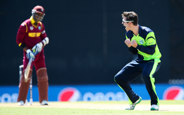 (Video) Ireland v West Indies – Dockrell takes three wickets including talisman Gayle in historic win