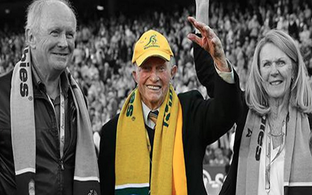 Australia's oldest Wallabies representative Gordon Stone passes away aged 100