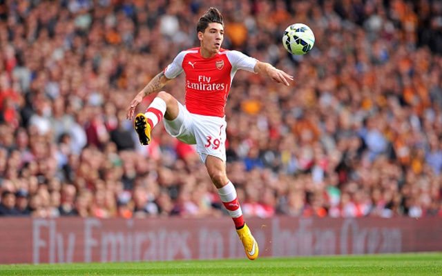 (Image) Arsenal's Hector Bellerin is faster than Usain Bolt