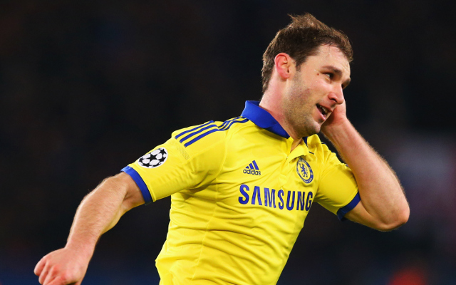 Branislav Ivanovic could leave Chelsea with PSG set to make £15m offer
