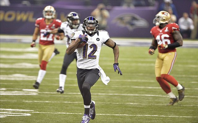 Baltimore Ravens release Super Bowl hero WR Jacoby Jones