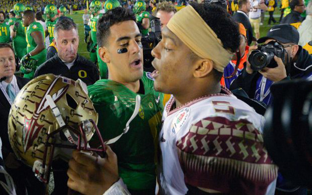 NFL draft news: Jameis Winston and Marcus Mariota training together before Scouting Combine