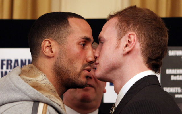 (Video) Boxing news: James DeGale taunts George Groves after title defeat