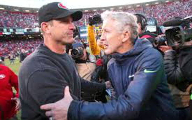 Jim Harbaugh: Seattle Seahawks made the right call on Super Bowl final play