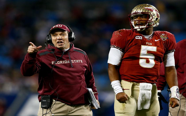 Florida State head coach Jimbo Fisher confirms Tampa Bay has called re: Jameis Winston