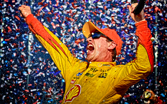 Joey Logano wins first Daytona 500 of NASCAR career