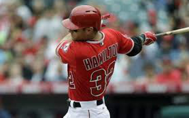Report: Los Angeles Angels OF Josh Hamilton suffered relapse