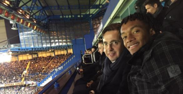Juan Cuadrado Chelsea v Man City