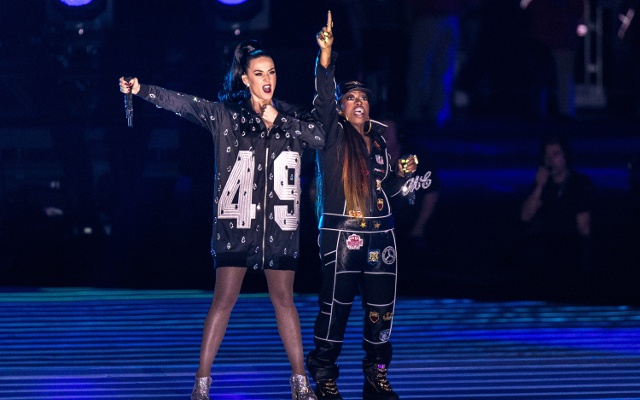(Video) Katy Perry Super Bowl XLIX half-time highlights as Missy Elliott steals the show