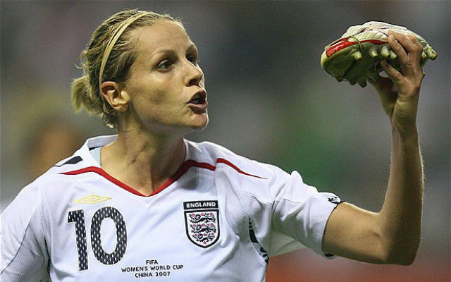 Kelly Smith retires from England duty as top goalscorer