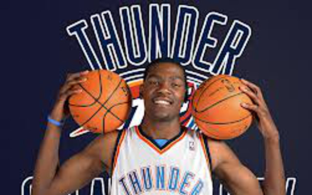Oklahoma City Thunder star Kevin Durant injured again