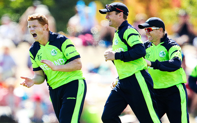 (Video) Cricket World Cup 2015: Brilliant! Ireland star Kevin O'Brien takes incredible reflex catch against UAE