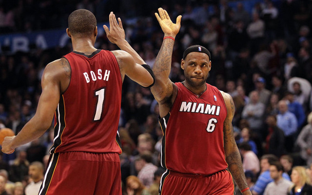 (Image) LeBron James tweets heartfelt messages for ailing NBA star Chris Bosh