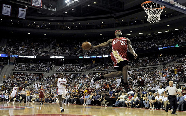 NBA news: LeBron James regrets never entering Slam Dunk contest