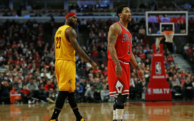 NBA Playoffs 2015: LeBron James and Derrick Rose serving up a playoff treat