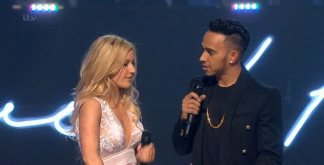 (Video) Awkward attempt at humour from Lewis Hamilton at BRIT Awards!