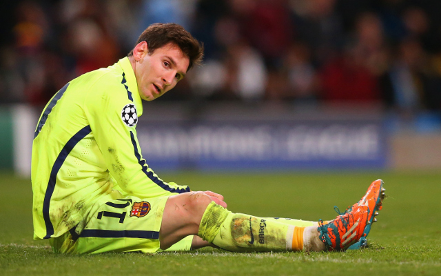 Barcelona stars Lionel Messi and Neymar could miss Champions League final