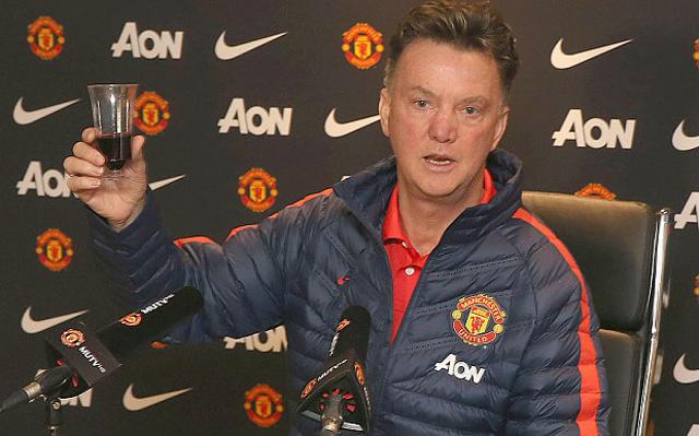 Man Utd Boss Louis Van Gaal Says He Has No Top Strikers!