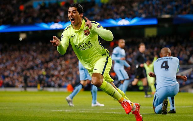 Man City offer £100m or Sergio Aguero swap to sign Barcelona's Luis Suarez