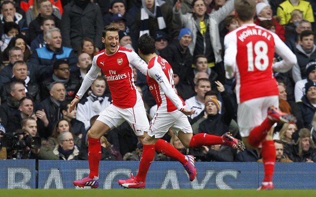 Tottenham 2-1 Arsenal: North London Derby player ratings with Ozil great for the Gunners, but Cazorla quiet