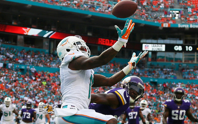 WR Mike Wallace discusses Miami Dolphins future with GM Dennis Hickey