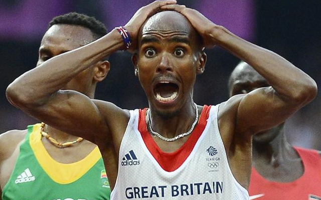 Arsenal fan Mo Farah accuses fellow athlete of racism