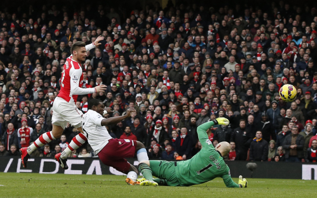 Arsenal Player Ratings Vs Aston Villa: Mesut Ozil with Man of the Match display as Theo Walcott marks Premier League start with goal