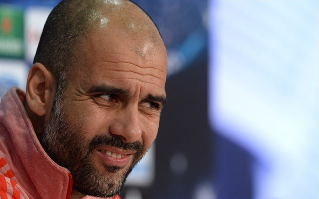 (Video) Bayern boss Pep Guardiola kicks off again – not even the ground staff are safe!