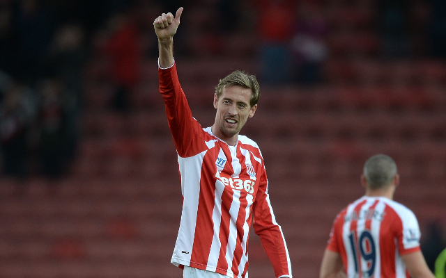 (Video) Peter Crouch leads Stoke City to 1-0 win over Hull City