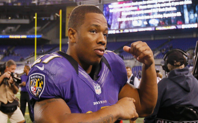 """Disgraced RB Ray Rice """"optimistic"""" he'll get second chance in the NFL"""