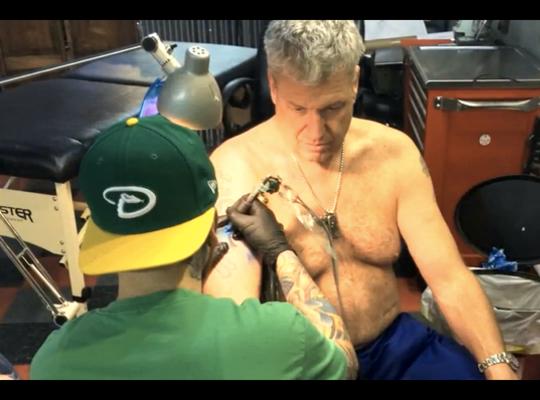Rex Ryan tattoo new