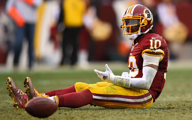 Uh oh! Washington Redskins QB Robert Griffin III not mentioned in letter to fans