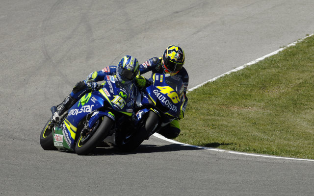 Rossi and Gibernau