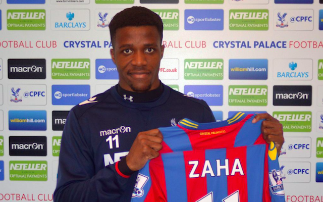 Crystal Palace re-sign Man United flop Wilfried Zaha after Old Trafford nightmare