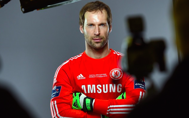 Chelsea reveal Petr Cech as Capital One Cup final goalkeeper?