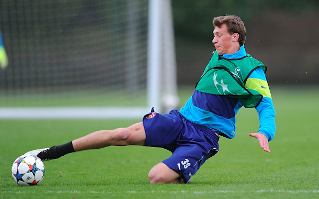 Arsenal January signing Krystian Bielik makes youth team debut