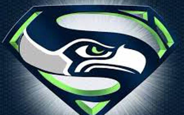 (Image) Seahawks #1 fan sighting! Super Bowl fan paints himself like the Hulk
