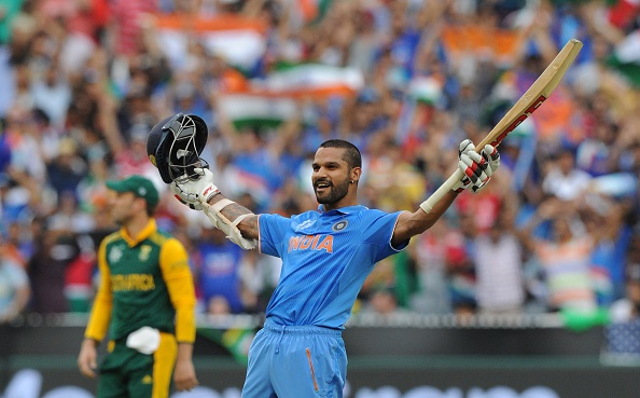 Twitter reacts to Dhawan's barbaric 137 knock for India v South Africa