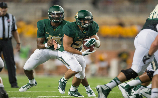 Once-homeless Baylor RB Silas Nacita ruled ineligible for football though NCAA issue denial