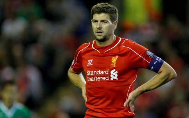 Brendan Rodgers refuses to guarantee Steven Gerrard Liverpool starting place