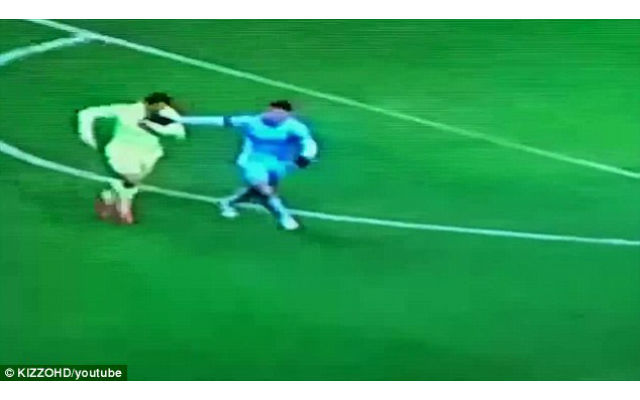 (Video) Is Luis Suarez taking a bite out of the competition AGAIN?