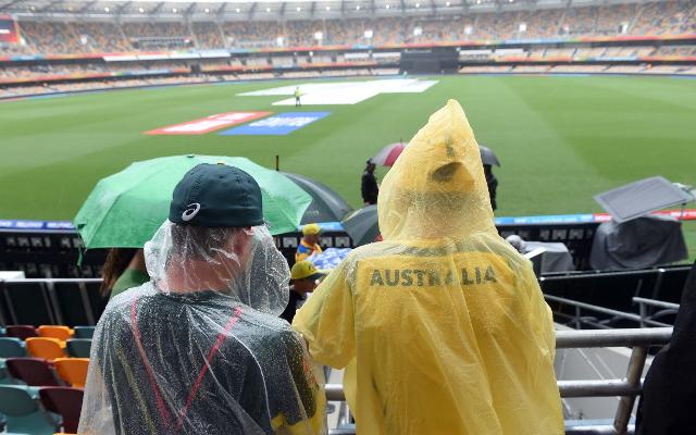 Australia v Bangladesh: Cricket World Cup 2015 – Match abandoned due to rain