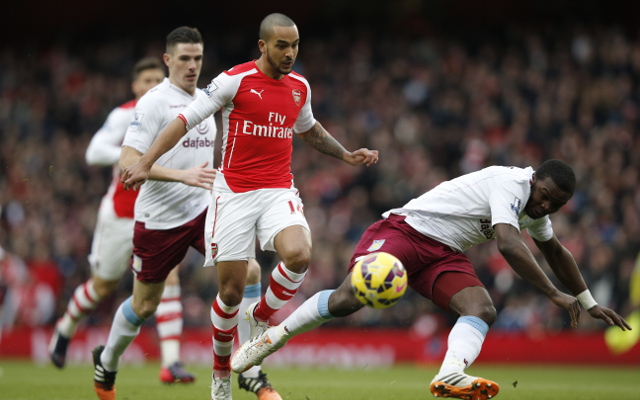 Liverpool chase Theo Walcott as Raheem Sterling replacement