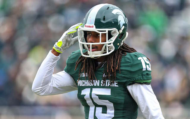 Michigan State CB Trae Waynes becomes No. 1 CB prospect after combine