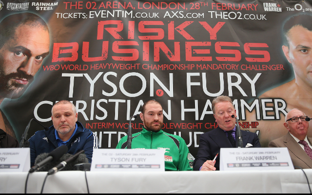 Tyson Fury vs Christian Hammer: Fight time, live stream and preview