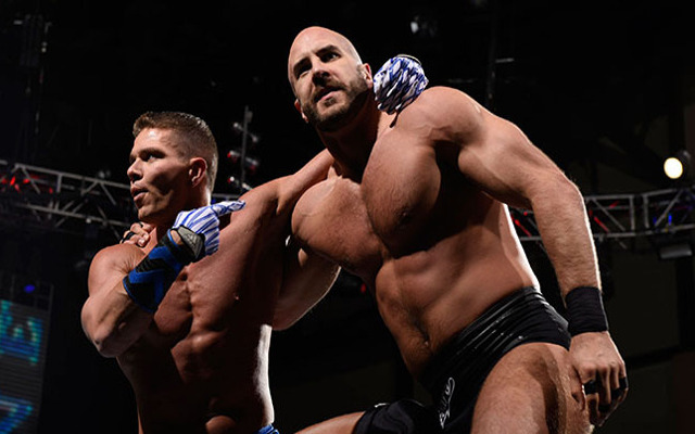 WWE Fastlane: Tyson Kidd and Cesaro win Tag Team titles; Goldust def. Stardust