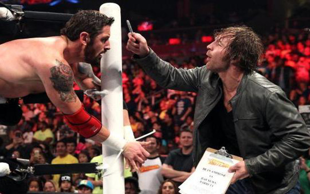 WWE Fastlane: Robbery! Dean Ambrose steals Intercontinental title; Nikki Bella retains Divas title