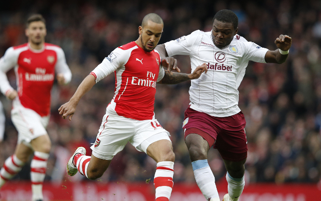 Arsenal predicted line-up vs Crystal Palace: Danny Welbeck dropped as Theo Walcott returns to starting XI