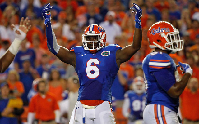 Dante Fowler rises to no. 2 in post-combine mock drafts