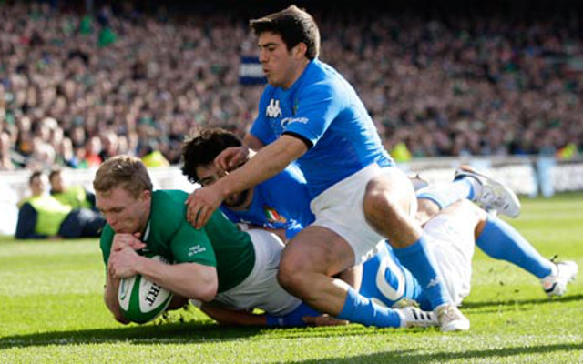 Six Nations 2015: Italy 3-26 Ireland highlights, Tommy O'Donnell scores great try